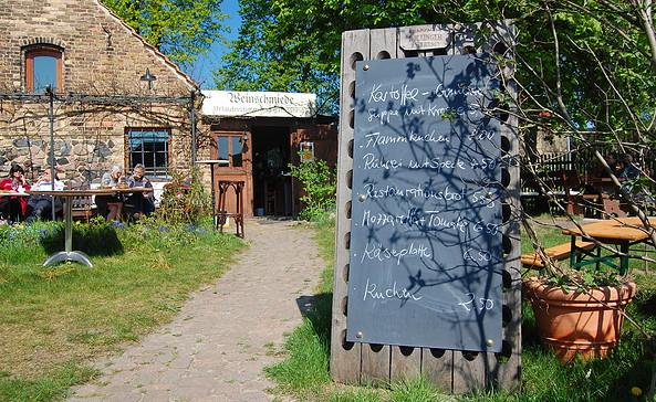 """Restaurant """"Weinschmiede"""", Foto: Jan Hoffmann"""