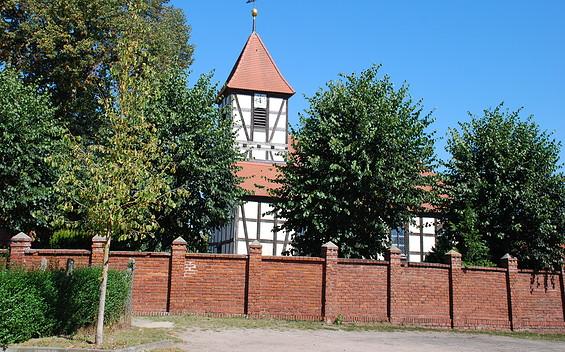Fachwerkkirche Semlin