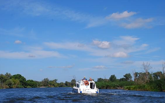 Hausboottour von Brandenburg an der Havel nach Pritzerbe