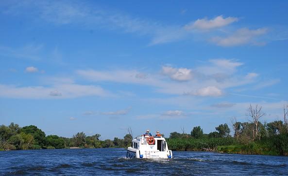 Hausboottour von Brandenburg an der Havel nach Pritzerbe, Foto: TV Havelland e.V.