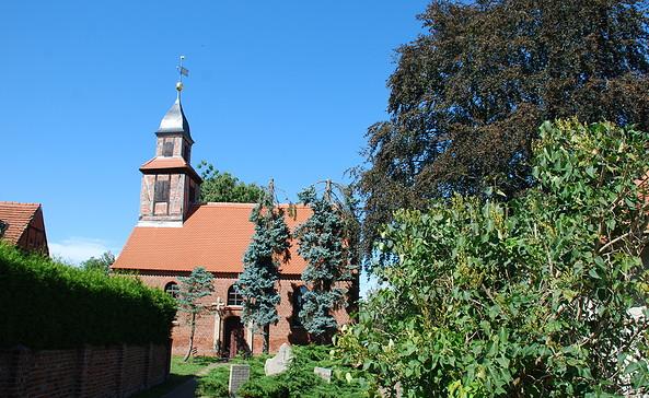 Kirche Wassersuppe, Foto: Tourismusverband Havelland e.V.