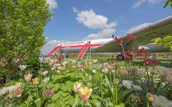 "Flugzeug IL 62 ""Lady Agnes"" in Stölln"