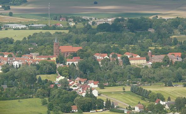 Flug über Müncheberg, Foto: Tourismusverband Seenland Oder-Spree e.V.