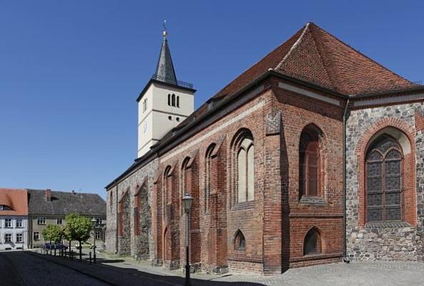 Kirche in Beelitz, Fotorechte: Henry Mundt