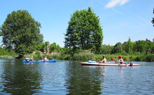 Kanutour entlang der Müggelspree, Foto: Tourismusverband Seenland Oder-Spree e.V.