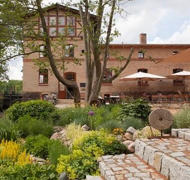"""Restaurant in der """"Mühle Tornow"""""""
