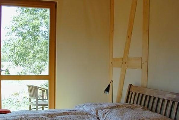 große Wohnung Doppelbett