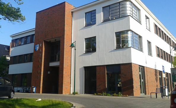 Rathaus der Gemeinde Rangsdorf, Foto: Nico Lamprecht