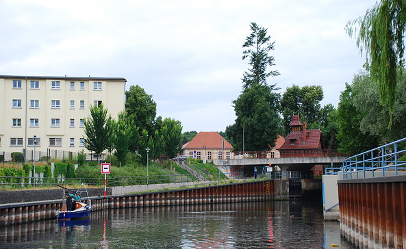 Stadtschleuse Rathenow, Foto: Tourismusverband Havelland e.V.