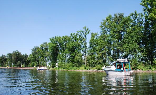 Schleuse Garz, Foto: Tourismusverband Havelland e.V.