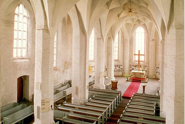 Evangelische Peter-Paul-Kirche Senftenberg - Innenansicht