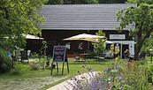 Hofcafé Schlossremise Steinhöfel, Foto: Barbara Westphal