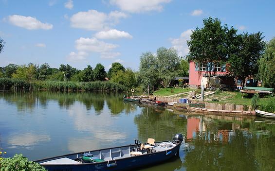 Wasserwanderrastplatz der Fischerei Schröder