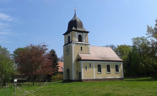 Kirche Mulknitz, Foto: Tourismusverband Niederlausitz e.V.