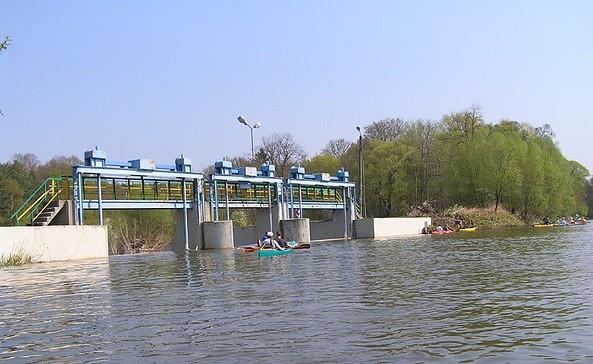 Wehr Pusack, Foto: Wassersport Forst