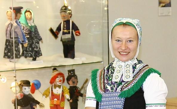 Begrüßung mit Brot und Salz im Sorbischen Kulturzentrum Schleife, Foto: Sorb. Kulturzentrum