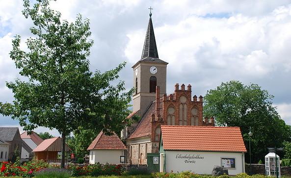 Kirche Derwitz, Foto: Tourismusverband Havelland e.V.