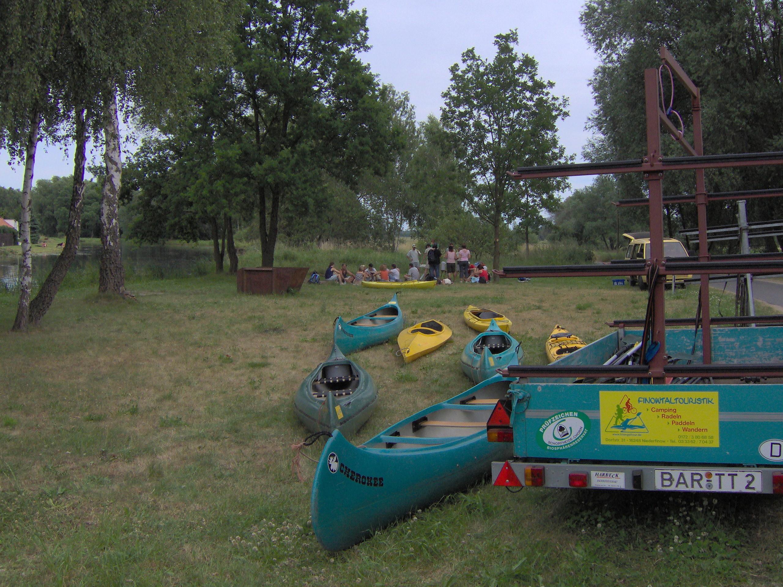 triangel camping niederfinow bootsvermietung barnimer