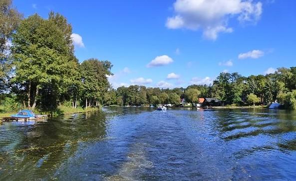 Auf der Dahme bei Prieros, Foto: Tourismusverband Dahme-Seen e.V.