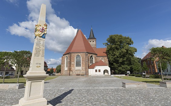 Kirche St. Sebastian in Baruth/Mark
