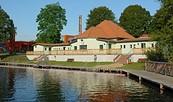 Flussbadeanstalt im Spreepark Beeskow, Foto: Tourismusverband Seenland Oder-Spree e.V.