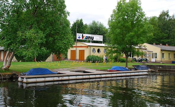 Wasserwanderstützpunkt Kanu Rathenow, Foto: Tourismusverband Havelland e.V.