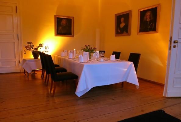 Kleiner Salon im Schloss Ziethen, Foto: Schloss Ziethen
