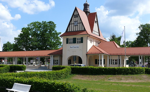 Bahnhof in Bad Saarow, Foto: Ellen Rußig