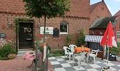 Radlercafé in der Pension Ferienhof Zander