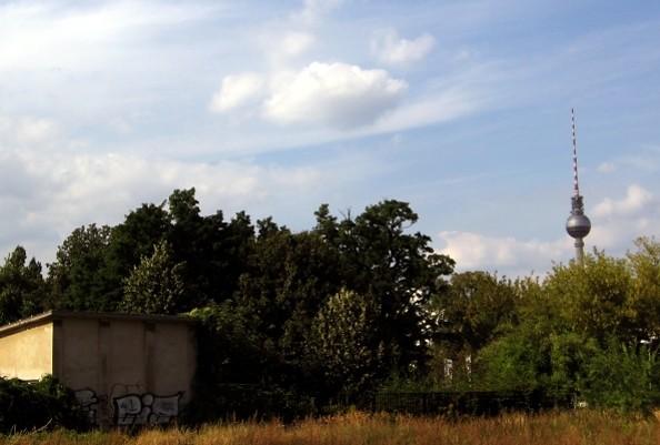 Fernsehturm aus der Ferne, Foto: TMB/Huff