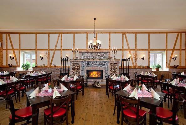 Blick ins Restaurant, Foto: Landhof Liepe, Frau Nooke