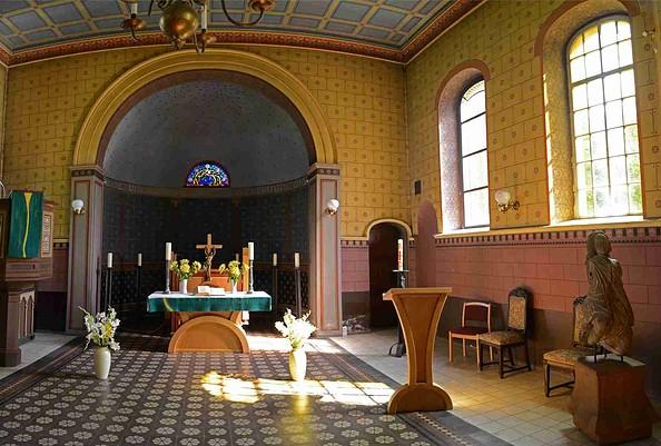 Kirche Ribbeck - Kircheninnenraum