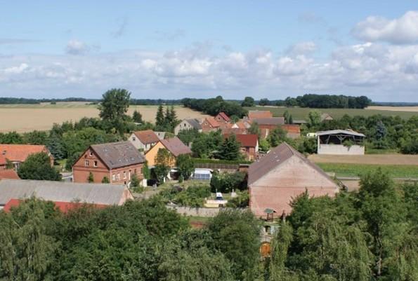 Blick über dem gesamten Fürstenhof