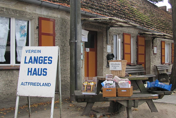 Heimatstube Langes Haus in Altfriedland, Foto: Alfred Effert