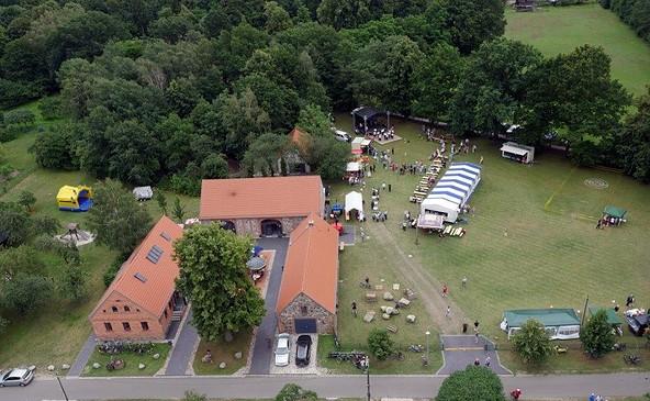 Steinitzhof aus der Luft, Foto: Mike Hohmann