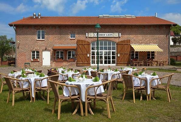Blick auf das Restaurant, Foto: Landhof Liepe