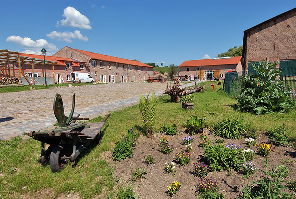 Blick auf den Landhof, Foto: Landhof Liepe