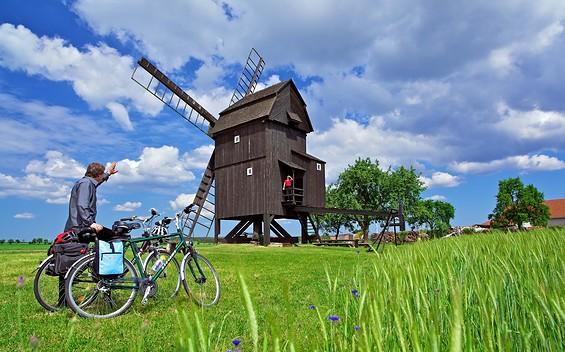 """E-Bike-Tour """"Zu den Reetz Dörfern: Natur pur"""""""