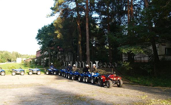 Beginn einer anspruchsvollen Tour mit Quad und ATV, Foto: Torsten Herfort