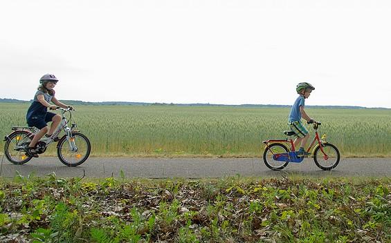 Kleine Familientour durch Wandlitz