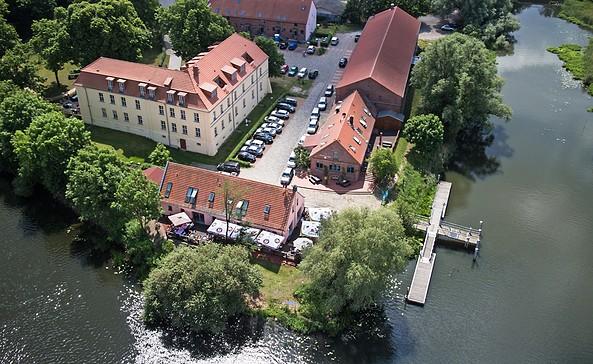 Gasthof Milow Luftbild, Foto: Gasthof Milow