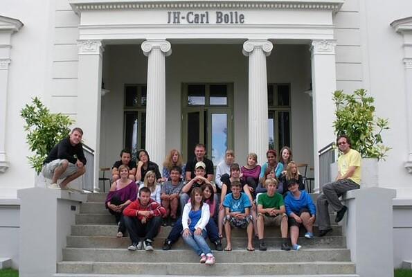 Villa mit Gruppe