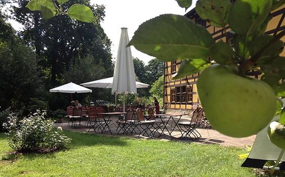 Restaurant im Hotel Kaisermühle bei Müllrose