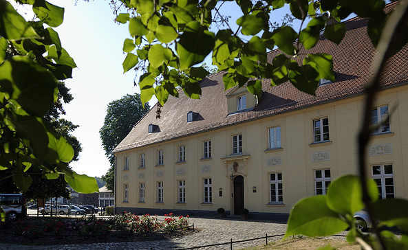 Schloss Diedersdorf von außen, Foto: Schloss Diedersdorf