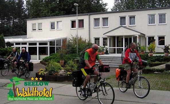 E-Bike - Ladestation im Waldhotel Seelow