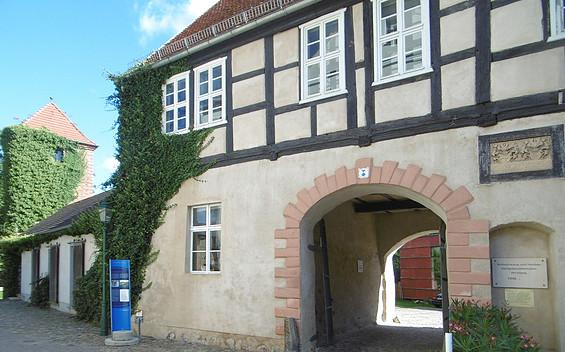 Wallgebäude Perleberg