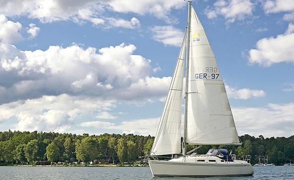 Segelboot auf dem Werbellinsee, Foto: WITO Barnim, Jürgen Rocholl