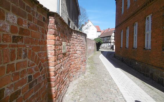 Stadtmauer in Perleberg