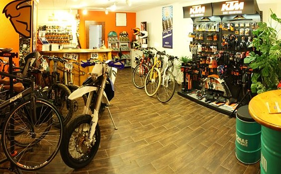 "Fahrrad- und E-Bike-Vermietung ""Sport Bike Tec 14"""