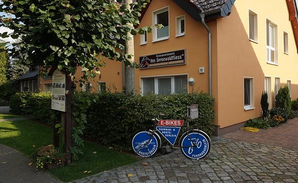 "Fahrradvermietung ""Am Spreewaldfliess"", Foto: Jan Hoffmann"